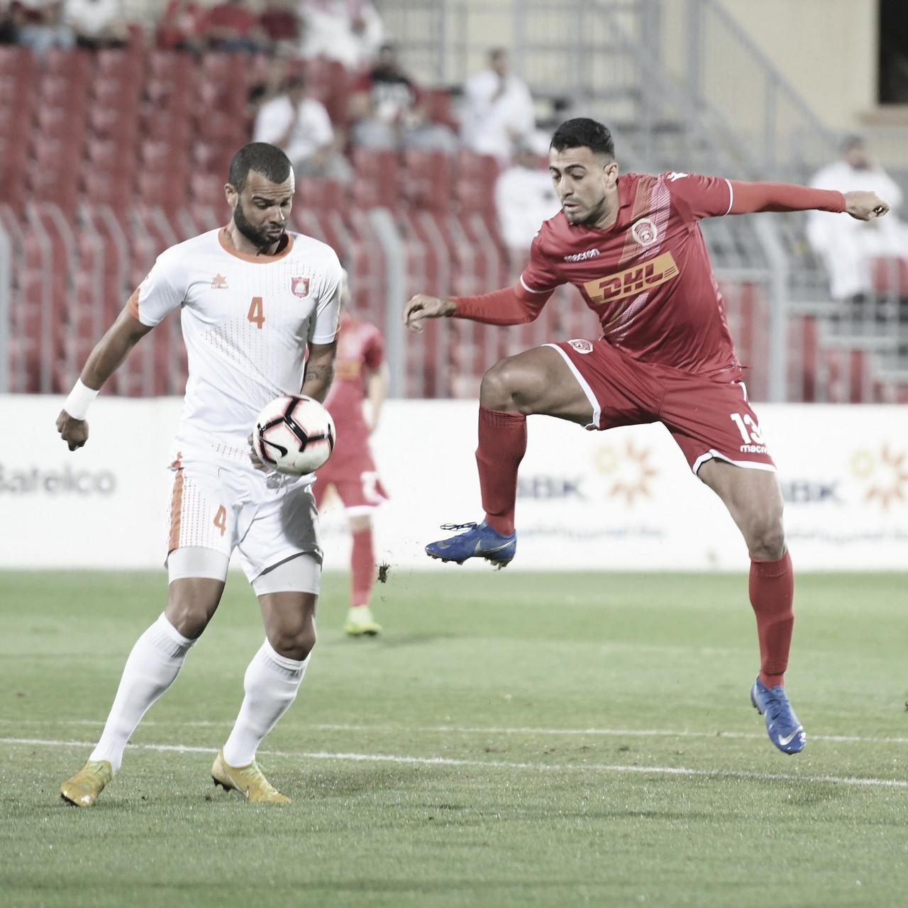 Em boa fase pelo Al-Muharraq, atacante Evertondestaca desejo de evolução no Bahrein