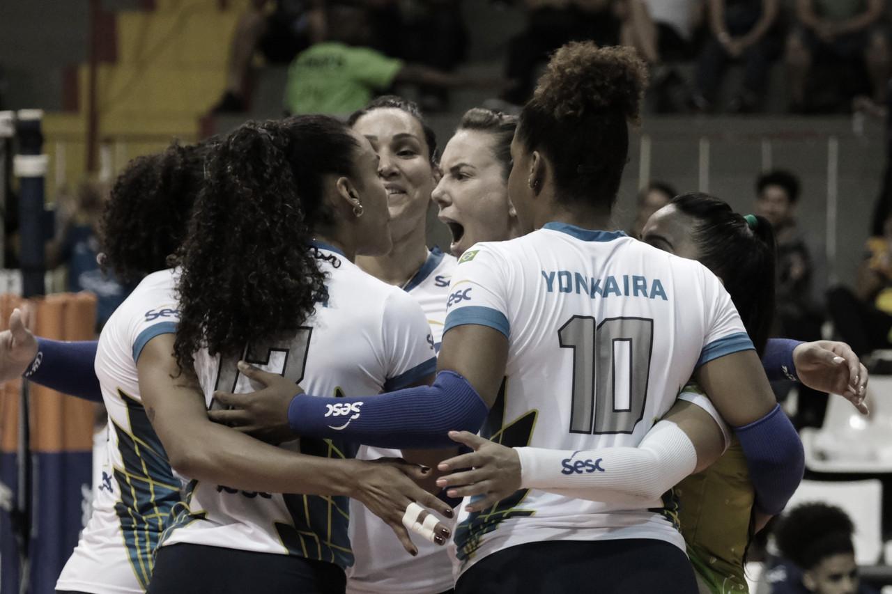 Sesc-RJ ganha do Curitiba Vôlei e se mantém na liderança da Superliga