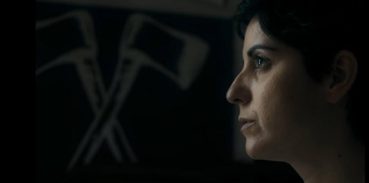 Gloria March, ganadora del premio a mejor actriz en los Premios del Audiovisual Valenciano