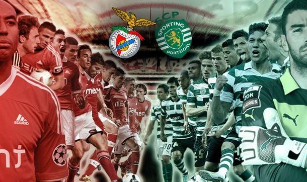 Jogo Benfica x Sporting, directo  e ao vivo