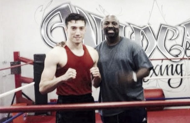 Triunfa Mario Cázares en el boxeo profesional