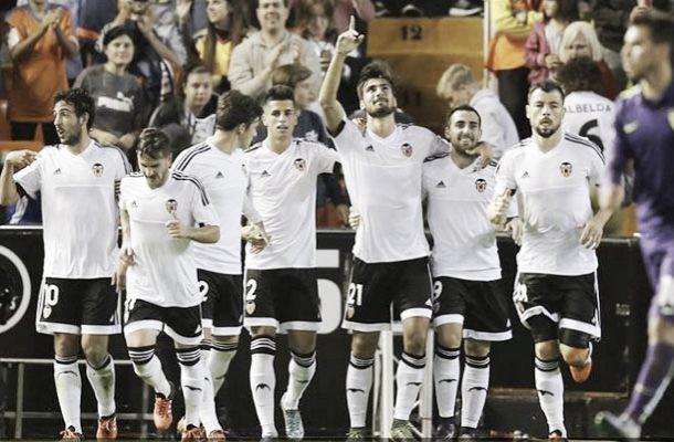 Al Valencia torna il sorriso e la vittoria: battuto il Malaga per 3 a 0