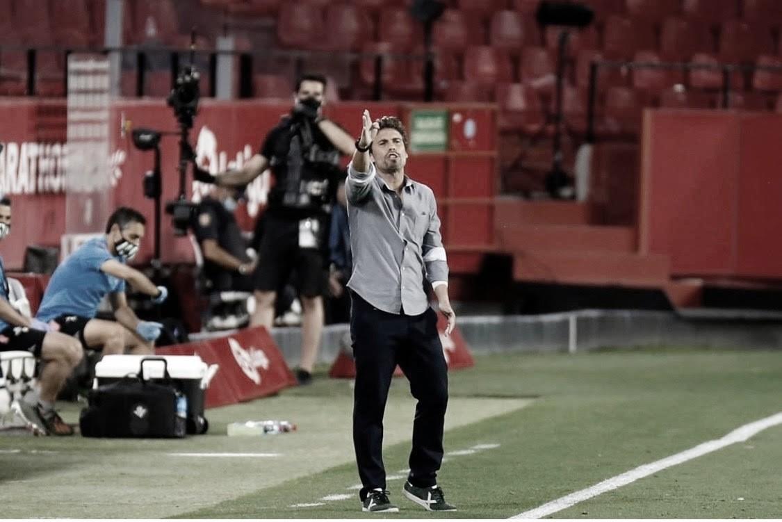 "Rubi: ""Me sabe mal la situación del penalti"""