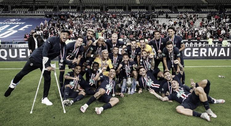 El PSG, campeón de la Coupe de France