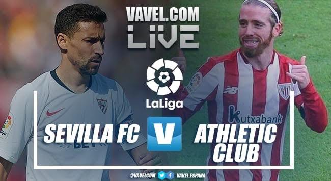 Sevilla FC vs Athletic Club EN VIVO y en directo para la jornada 34 de LaLiga Santander
