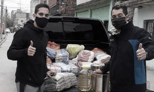 La solidaridad de Iván Marcone en tiempos de pandemia