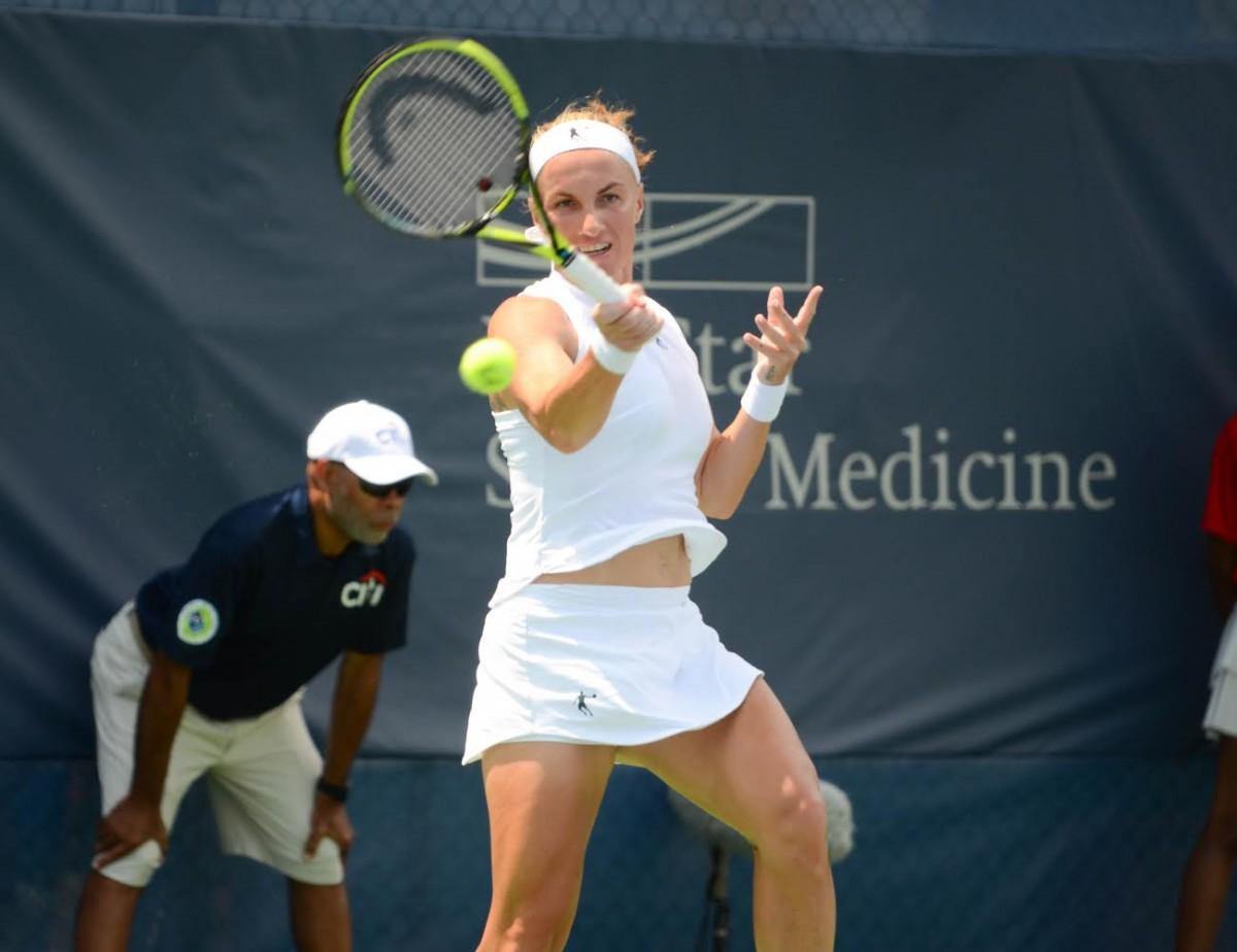 WTA Citi Open: Svetlana Kuznetsova ousts Andrea Petkovic in straight sets