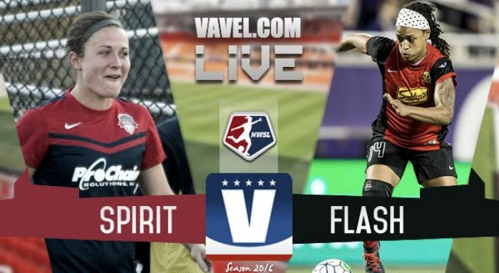 Score Washington Spirit vs Western New York Flash in 2016 NWSL Championship (2-2)
