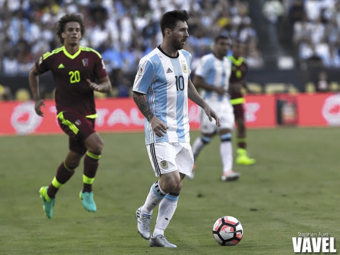 Copa America Centenario: Argentina secures semifinal berth with win over Venezuela