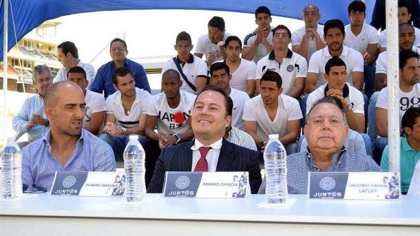 Jacobo Payán presentó los cambios en la directiva del Atlético San Luis