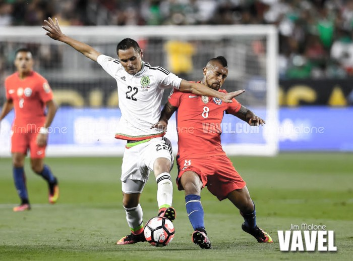Copa America Centenario: Chile's Arturo Vidal to miss semifinal match with Colombia