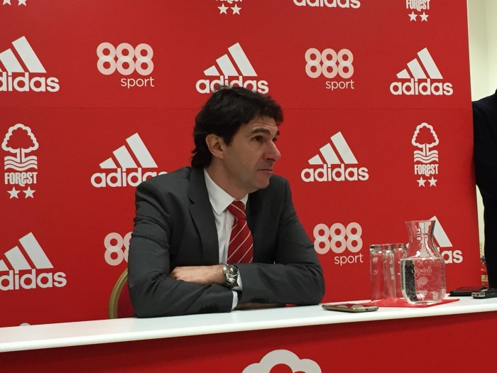 Aitor Karanka urges Nottingham Forest fans to be patient after a fourth straight defeat