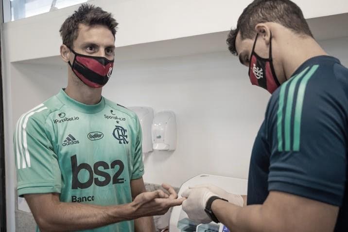 Flamengo retoma atividades após novos testes para Covid-19