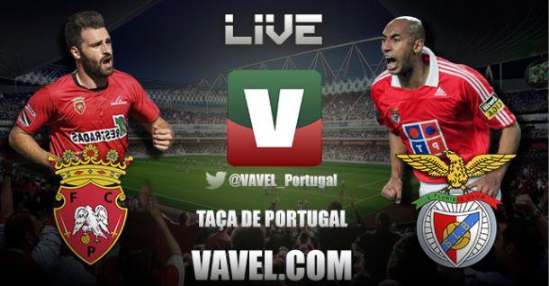 Penafiel x Benfica, directo