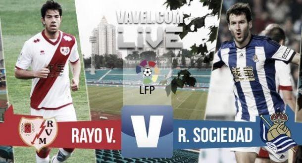 Resultado Real Sociedad vs Rayo Vallecano (0-1)