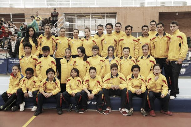 Colombia obtuvo 15 medallas en el Sudamericano de Gimnasia