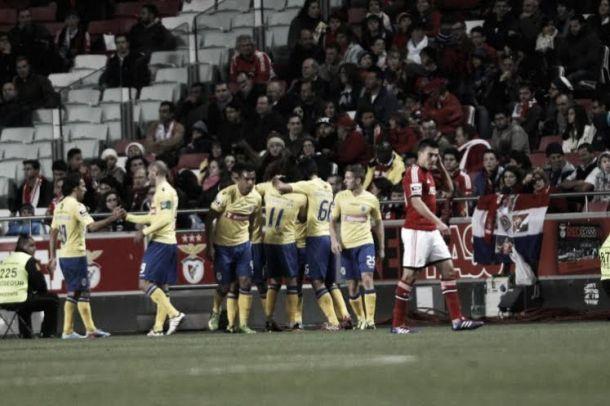 Arouca empatou um Benfica que se escondia por detrás das vitórias