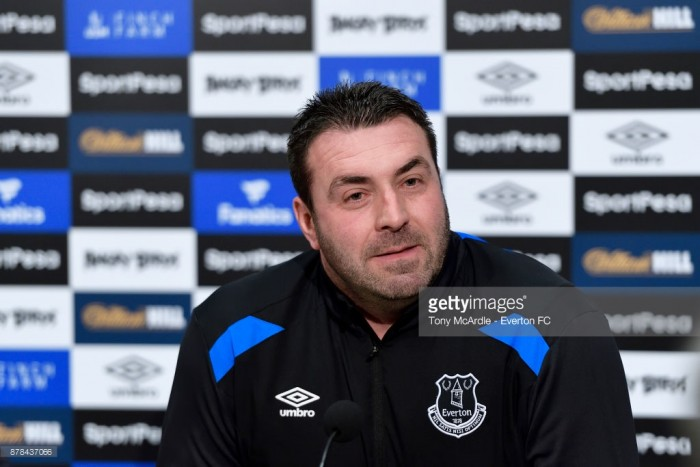 David Unsworth: Everton players need to 'stand up and be counted'