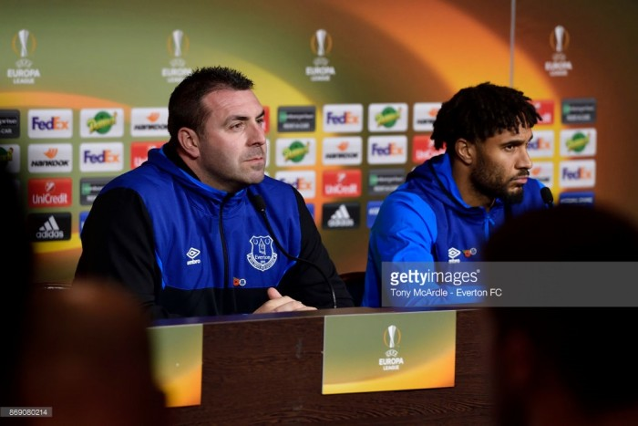 David Unsworth: Everton are absolutely focused on winning against Lyon