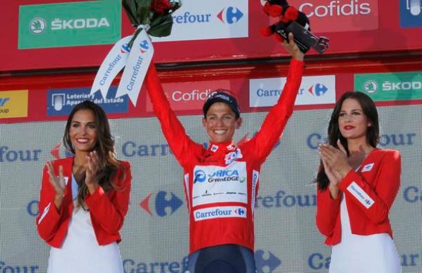 Vuelta 2015, 6° tappa: Esteban Chaves di nuovo in rosso, colpo grosso sull'Alto de Cazorla