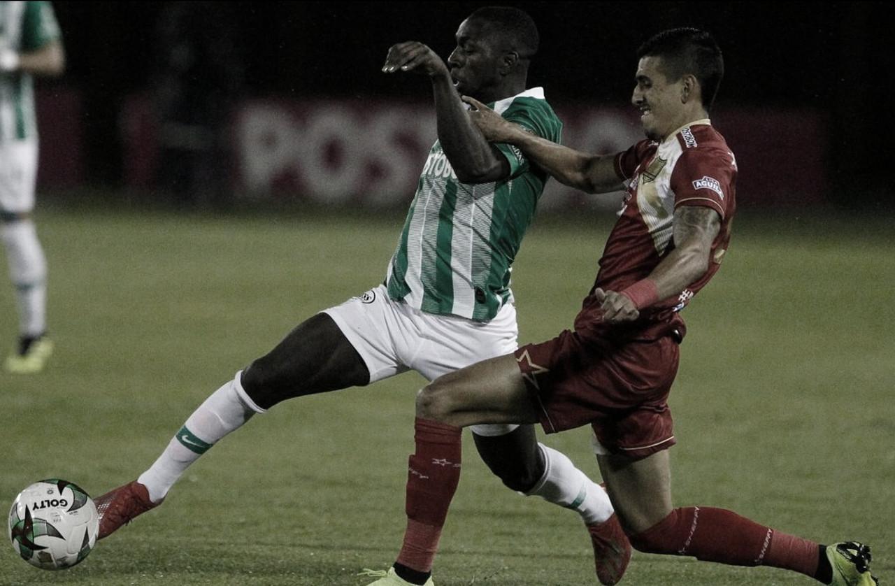 Nacional cayó en su visita a Rionegro Águilas y complicó su clasificación