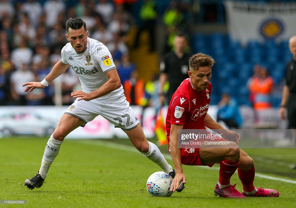 Leeds United 1-1 Nottingham Forest: Late equalizer by Grabban claims point for Reds