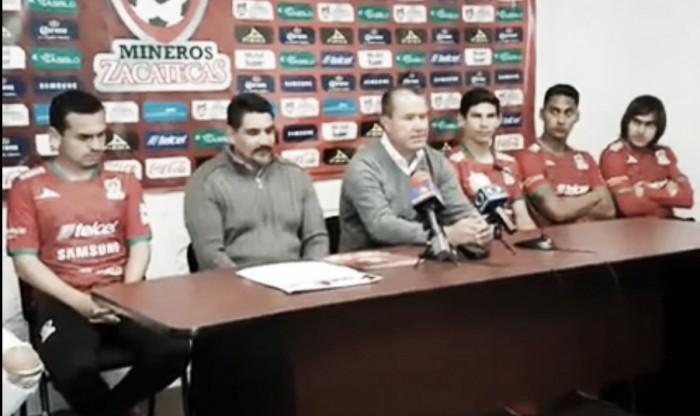 Mineros presentó a sus refuerzos para el Clausura 2017