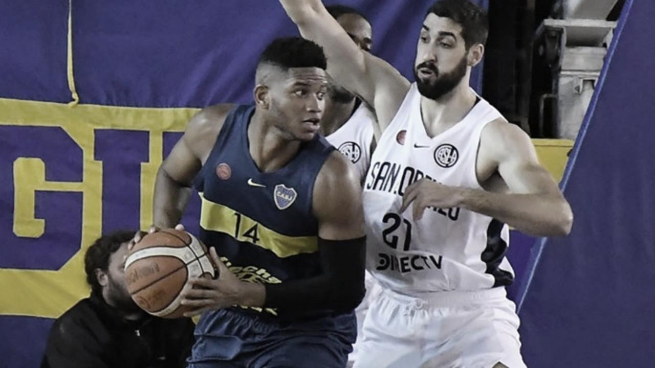 Playoffs Liga Nacional: Boca fuerza el quinto
