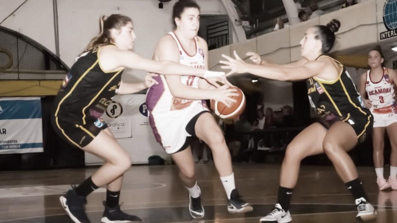 Liga Femenina: Berazategui ganó gracias a un gran segundo tiempo