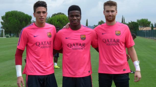 La nueva portería del Barça B
