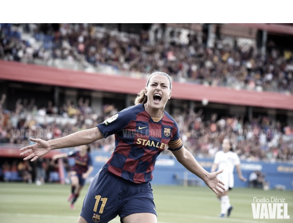 """Alexia Putellas: """"El 2 a 0 es un buen resultado"""""""