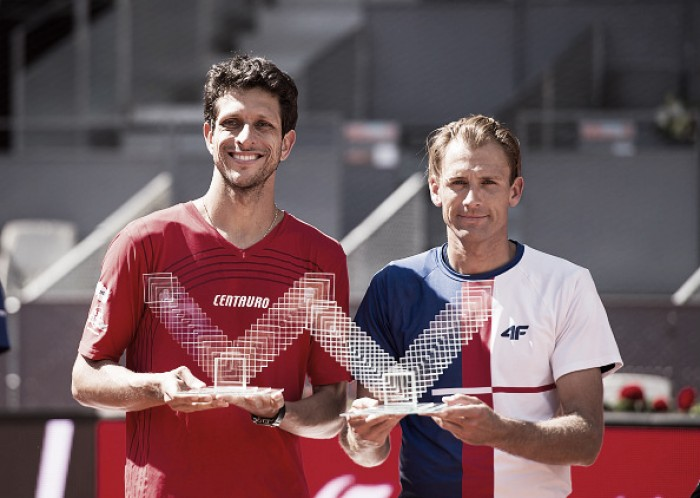 ATP Madrid: Kubot/Melo clinch second Masters title with win over Mahut/Roger-Vasselin