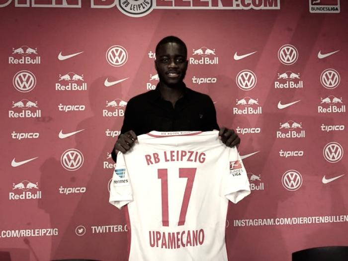 Dayot Upamecano llega a las filas del RB Leipzig