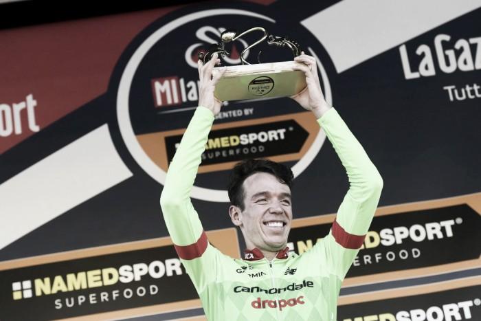 Brillante victoria de Rigoberto Urán en la Milán-Turín