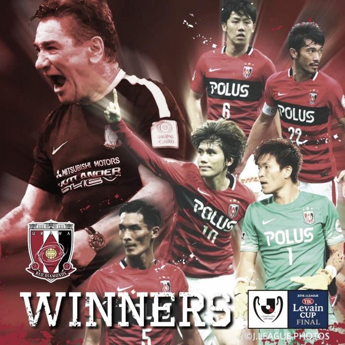 Urawa Reds, campeón de la Levain Cup