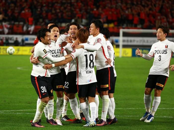 Urawa Reds golpea primero