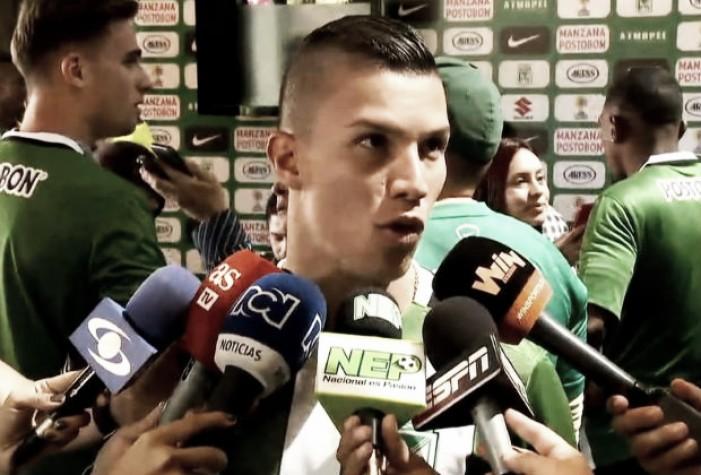 """Mateus Uribe:""""Salimos al campo a mantener el orden que nos había dicho el 'profe'"""""""
