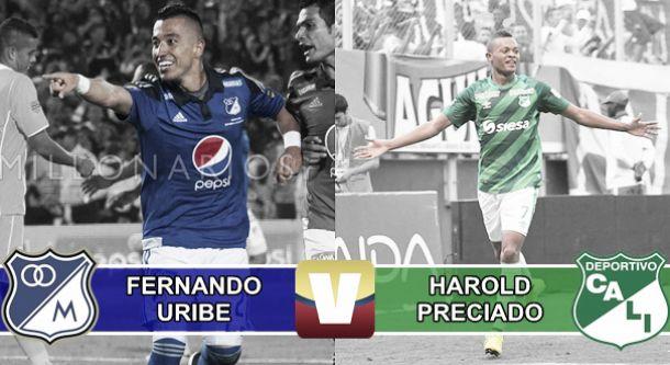 Fernando Uribe - Harold Preciado: La lucha por el botín de goleador