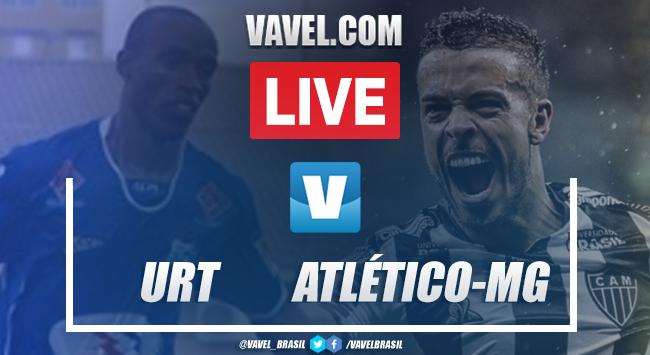 Gols e melhores momentos URT 0x 1 Atlético-MG pelo Campeonato Mineiro