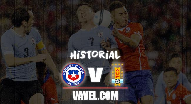 Historial Chile vs Uruguay: la 'celeste' por encima de la 'roja'