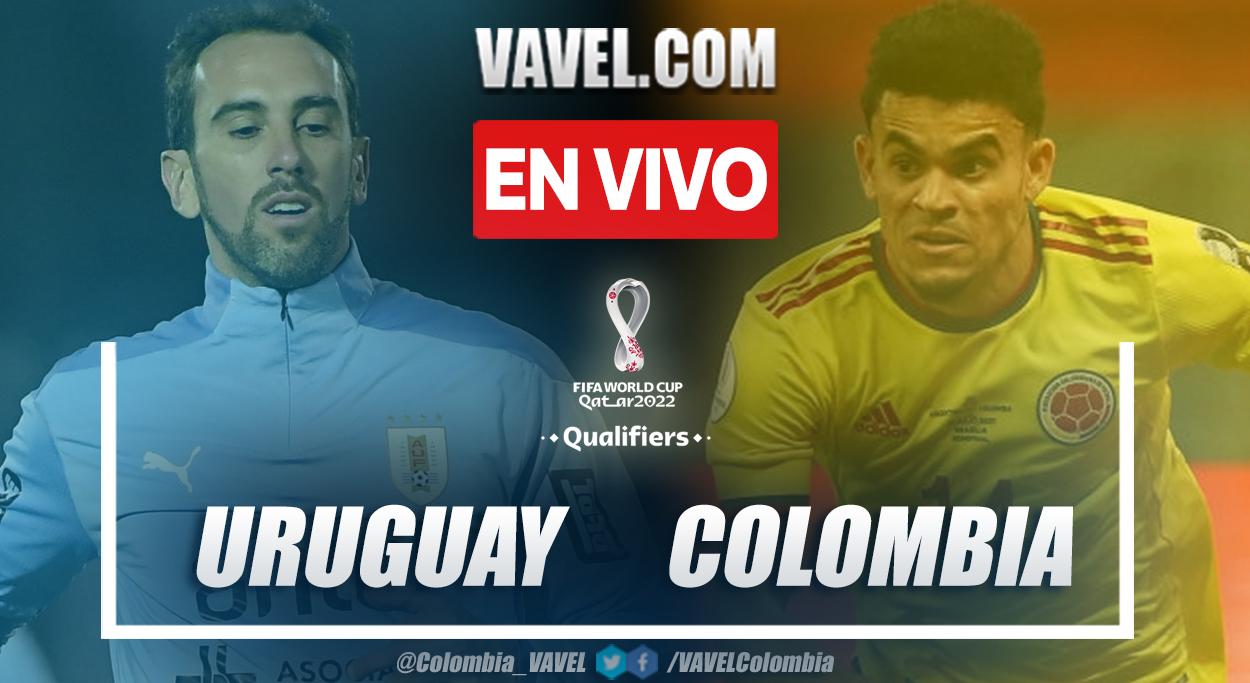 Resumen y goles: Uruguay 0-0 Colombia en la fecha once por eliminatorias al Mundial 2022