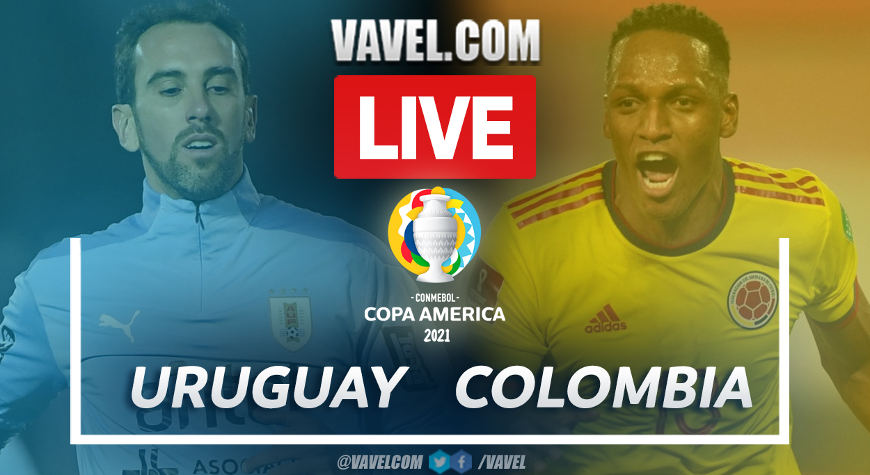 Highlights and Best Moments: Uruguay 0(2) - 0(4) Colombia in Copa America 2021 Semifinal Match | 07/03/2021