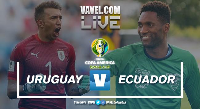 Resumen Uruguay vs Ecuador por la primera fecha del grupo C de la Copa América Brasil 2019 (4-0)