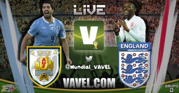 Uruguai x Inglaterra, Copa do Mundo
