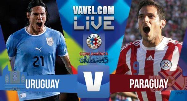 Risultato Uruguay - Paraguay, Copa America 2015 (1-1)