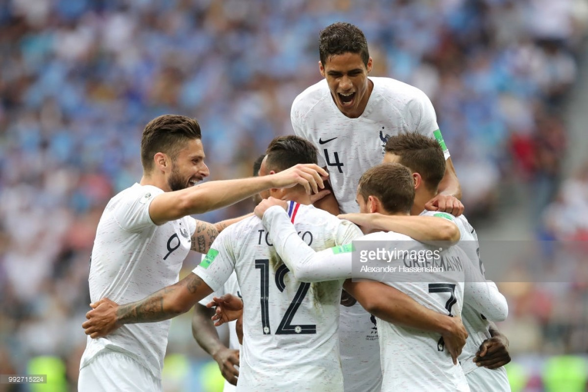 Uruguay 0-2 France: Underwhelming French edge past Cavani-less La Celeste