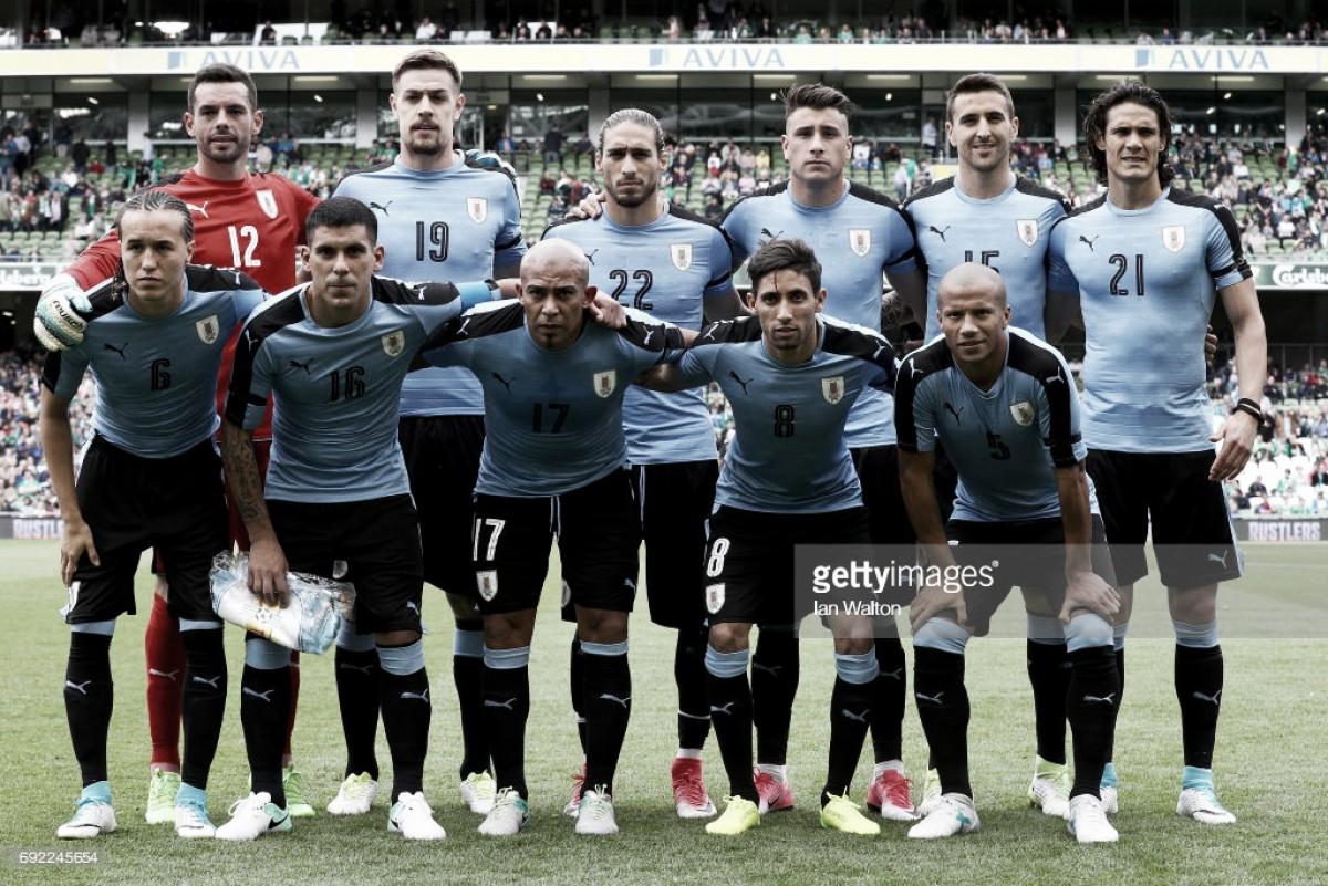Rússia 2018: Uruguai