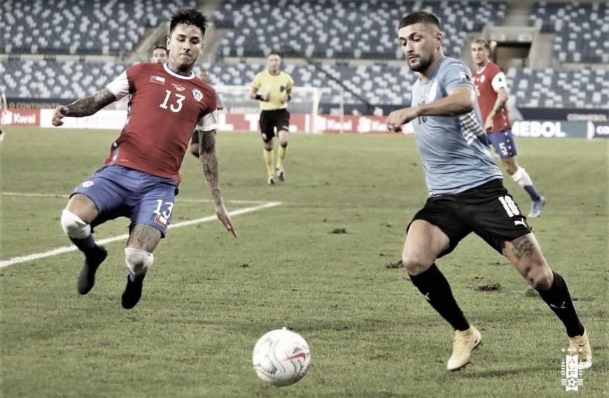 Suárez arranca empate, Uruguai soma primeiro ponto e classifica Chile na Copa América