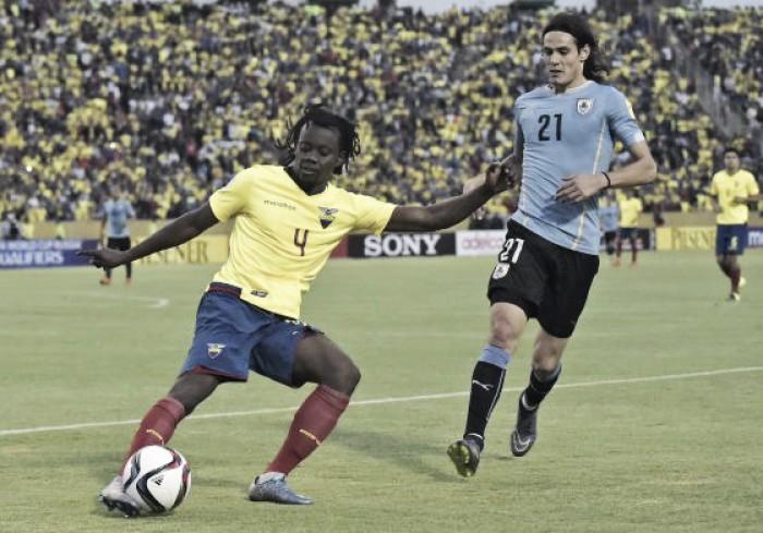 Uruguai e Equador se enfrentam buscando topo da tabela nas Eliminatórias