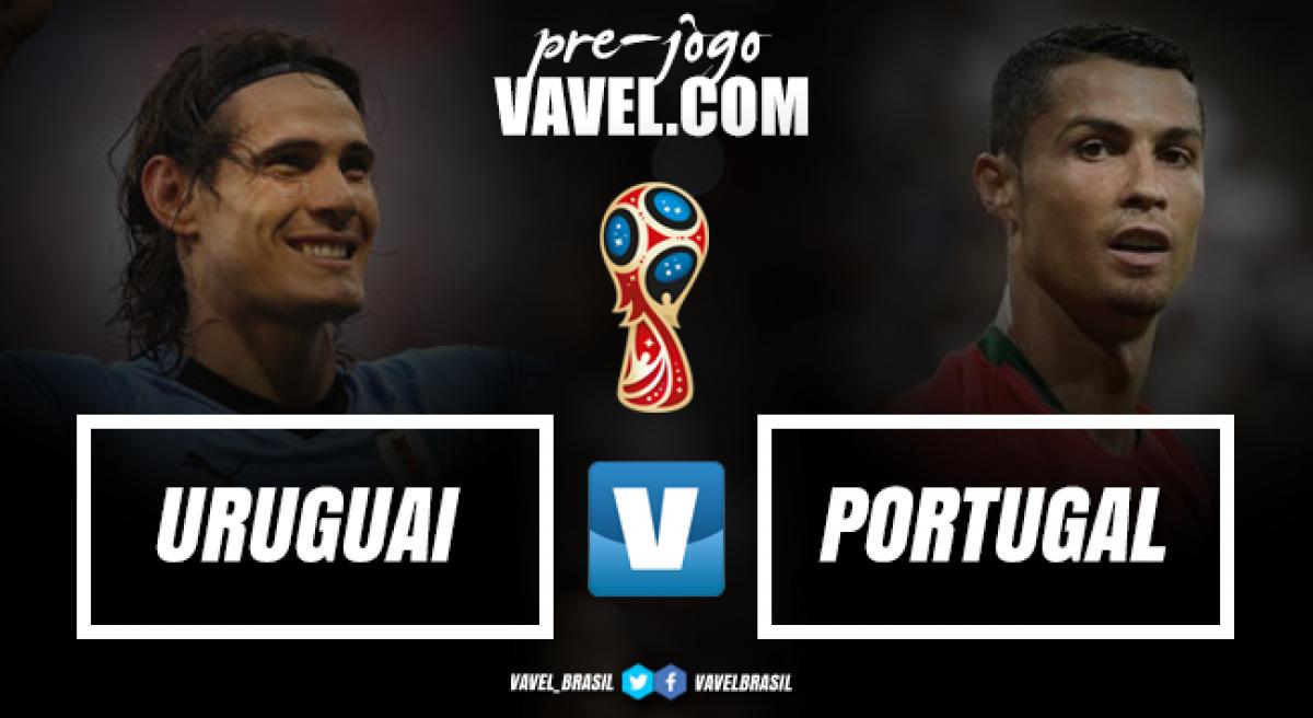 Com a melhor defesa da Copa, Uruguai enfrenta Portugal de Cristiano Ronaldo nas oitavas